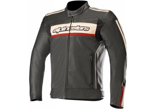 Alpinestars Alpinestars Dyno V2 leather Jacket Black White