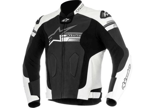 Alpinestars Alpinestars Fuji Leather Jacket Black White