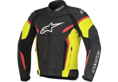 Alpinestars Alpinestars GP Plus R V2 Leather Jacket Black Yellow Red