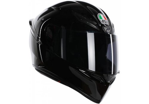 AGV K-1 Schwarz Helm