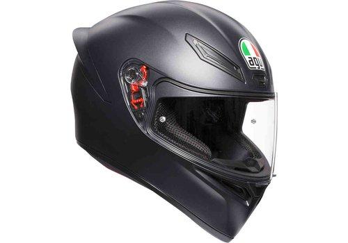 AGV K-1 Mat Zwart Helm