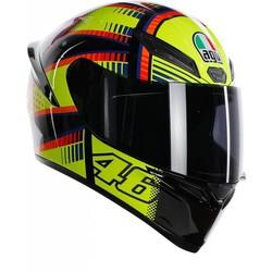 AGV AGV K-1 Rossi Soleluna 2015 Helm + 50% Rabatt auf einem Extra Visier!