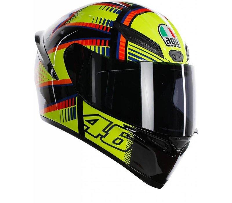 AGV K-1 Rossi Soleluna 2015 Helm + 50% Rabatt auf einem Extra Visier!