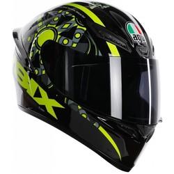 AGV AGV K-1 Rossi VR46 Flavum 46 Helm + 50% Rabatt auf ein Extra Visier!