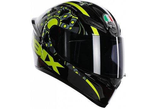 AGV K-1 Rossi VR46 Flavum 46 Helm