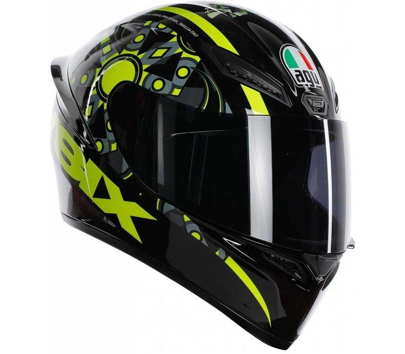 AGV K-1 Rossi VR46 Flavum 46 Helm + 50% Rabatt auf ein Extra Visier!