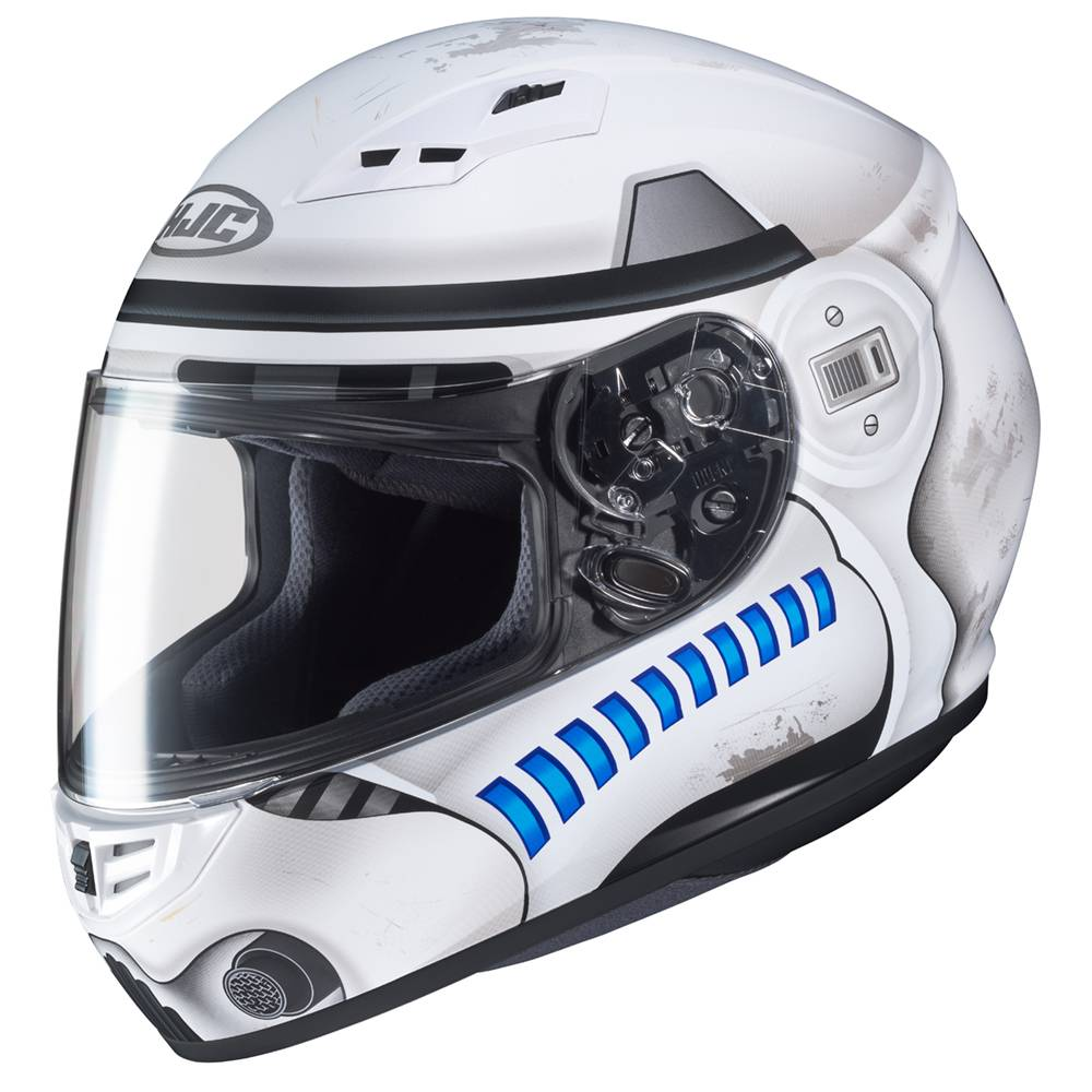 hjc cs 15 stormtrooper star wars helmet champion helmets motorcycle helmets. Black Bedroom Furniture Sets. Home Design Ideas
