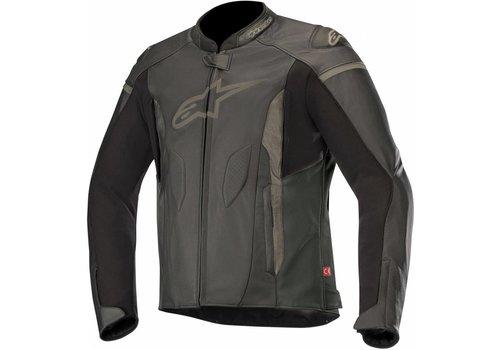 Alpinestars Alpinestars Faster Leather Jacket Black