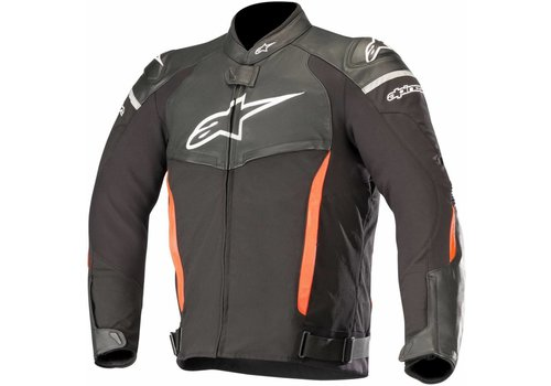 Alpinestars Alpinestars SPX Leather Jacket Black Red