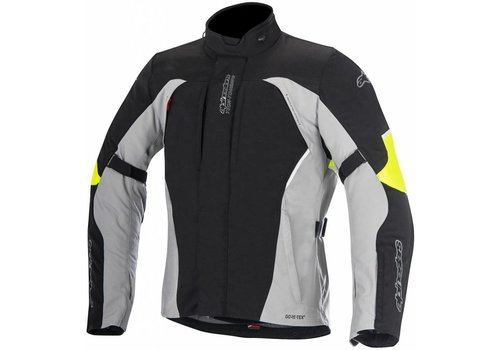 Alpinestars Alpinestars Ares Gore-Tex Textile Jacket Black  Grey Yellow Fluo