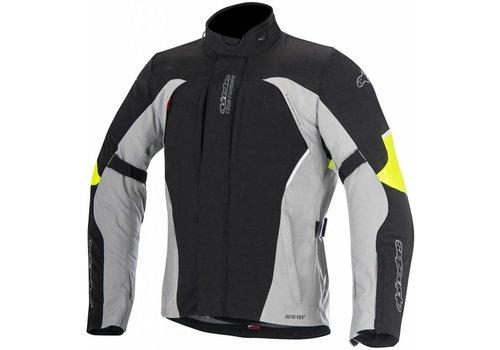 Alpinestars Chaqueta Alpinestars Ares Gore-Tex Textile Negro Gris Amarillo Fluo