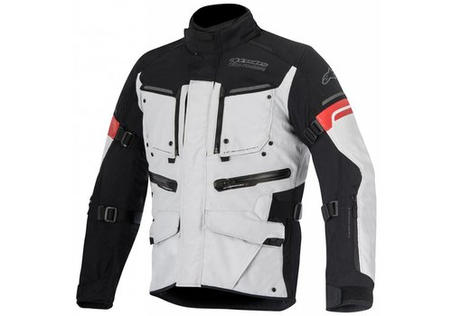 Alpinestars Alpinestars Valparaiso 2 Drystar Jacket Light Grey Black Red