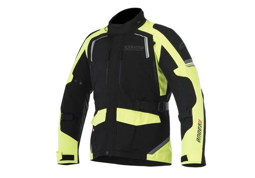 Alpinestars Andes V2 DS Jacket Black Yellow Fluo