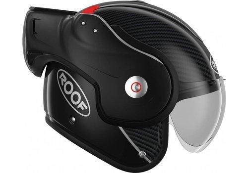 ROOF Boxxer Carbon Helm Schwarz + Extra Kostenloser Visier