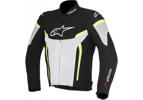 Alpinestars Alpinestars T-GP Plus R V2 Textile Jacket Black White Yellow Fluo