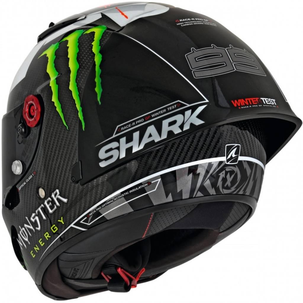 shark race r pro gp lorenzo winter test 2018 helmet free. Black Bedroom Furniture Sets. Home Design Ideas
