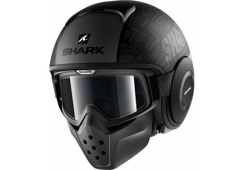 Shark Capacete Shark Drak Tribute RM Preto fosco