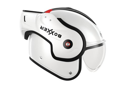 ROOF Boxxer Fiberglass Modular Helmet White