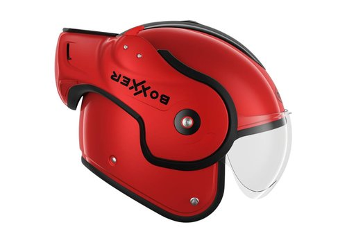 ROOF Boxxer Fiberglass Casco Rosso