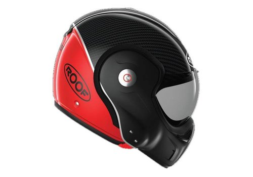 ROOF Boxxer Carbon Modular Helmet Red