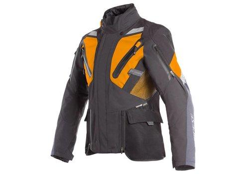 Dainese Gran Turismo Gore-tex Jacket Black Orange Ebony