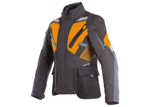 Dainese Gran Turismo Gore-tex Куртка Черный оранжевый Ebony