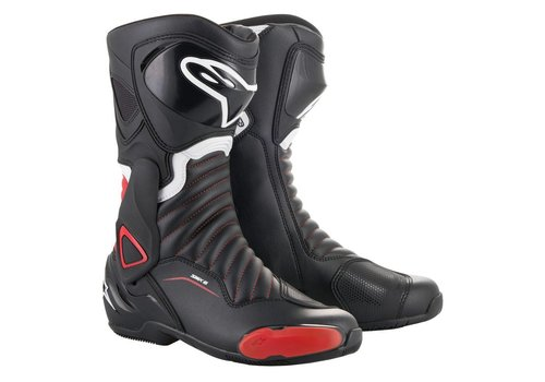 Alpinestars SMX 6 V2 Boots Black Red