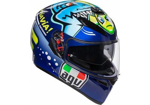 AGV K3 SV Rossi Misano 2015 Helm