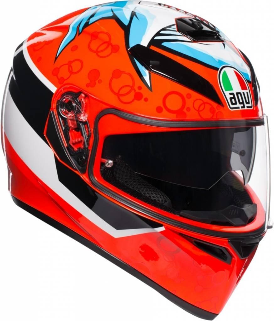 AGV K3 SV K-3 SV Attack Shark Full Face Motorcycle Helmet Free Shipping
