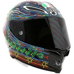 AGV AGV Pista GP R Winter Test 2018 Rossi Helmet