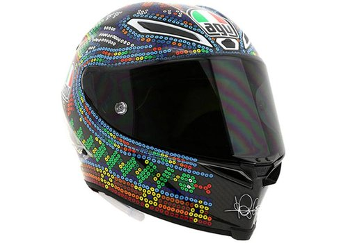 AGV Pista GP R Winter Test 2018 Valentino Rossi Kask - Limited Edition