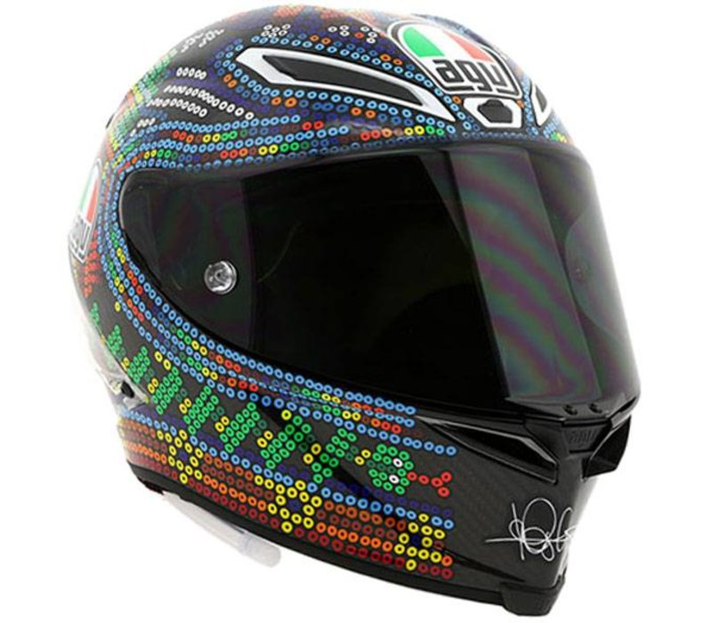 agv pista gp r winter test 2018 helmet free extra visor. Black Bedroom Furniture Sets. Home Design Ideas