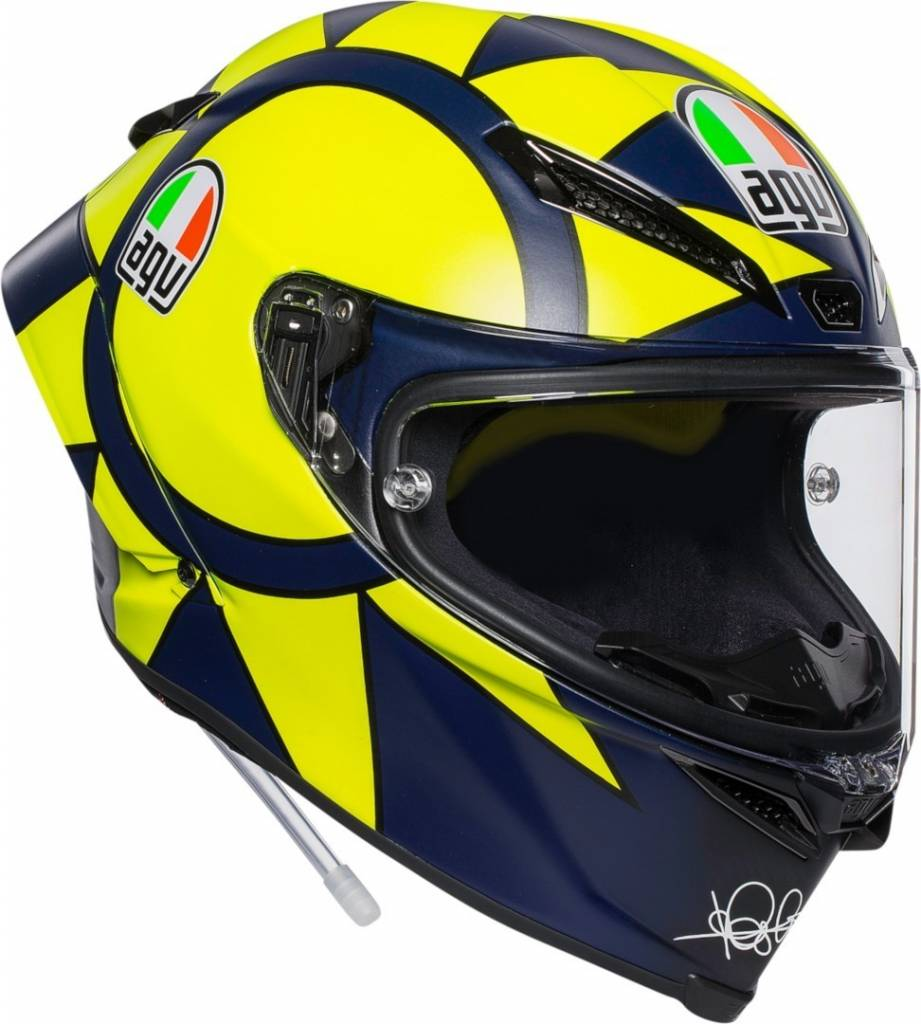 pista gp r soleluna 2018 valentino rossi helm gratis. Black Bedroom Furniture Sets. Home Design Ideas