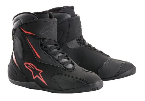 Alpinestars Fastback-2 Drystar Shoes Black Anthracite Red