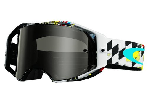 Oakley Airbrake MX James Stewart Signature Dark Grey Brille - 59-768