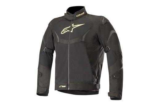 Alpinestars T-Core Air Drystar Motorcycle jacket Black Yellow Fluo