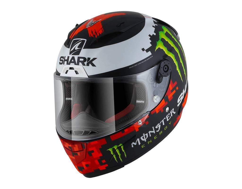 shark race r pro lorenzo monster 2018 helmet champion. Black Bedroom Furniture Sets. Home Design Ideas
