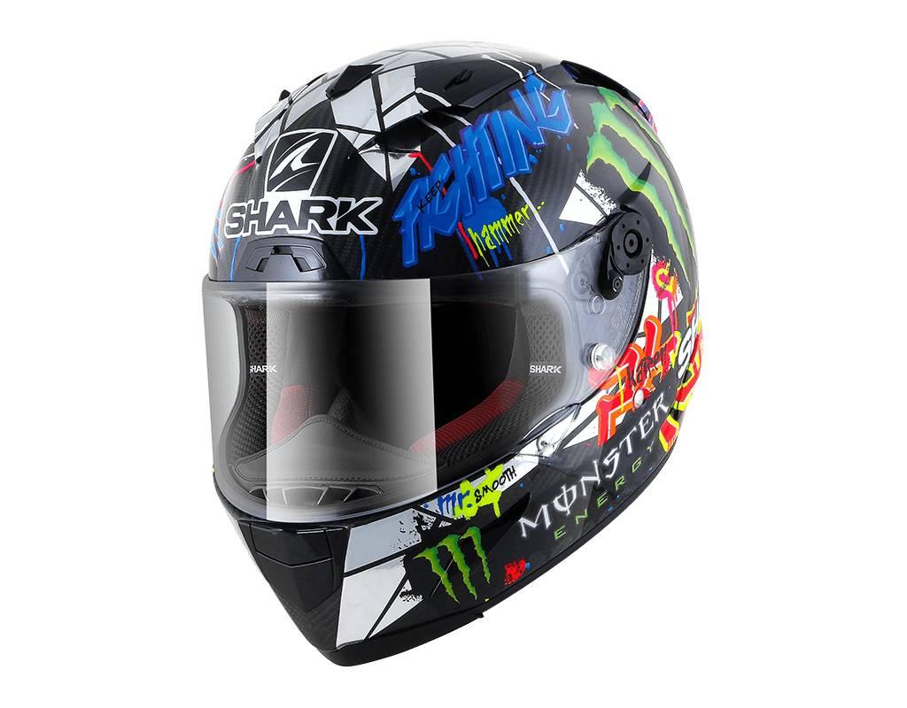 Shark Race R Pro Carbon Replica Lorenzo Catalunya Gp Helmet