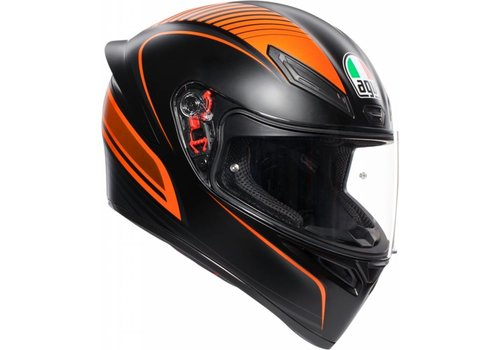 AGV K-1 Warmup Orange Helmet