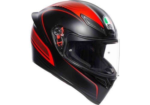 AGV K-1 Warmup Red Helmet