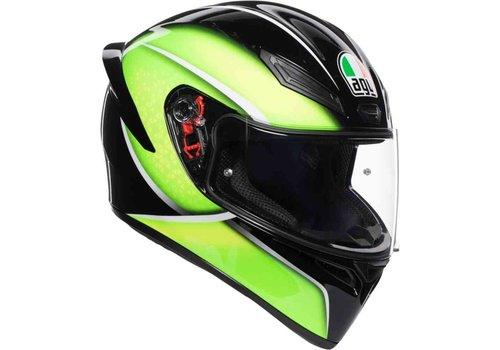 AGV K-1 Qualify Green Helmet