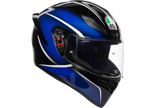AGV K-1 Qualify Blue Helm