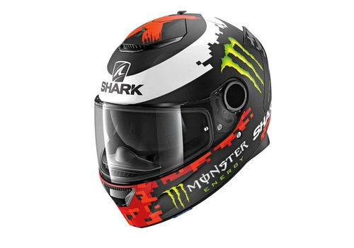 Shark Spartan 1.2 Replica Lorenzo Monster 2018 KRG Casco