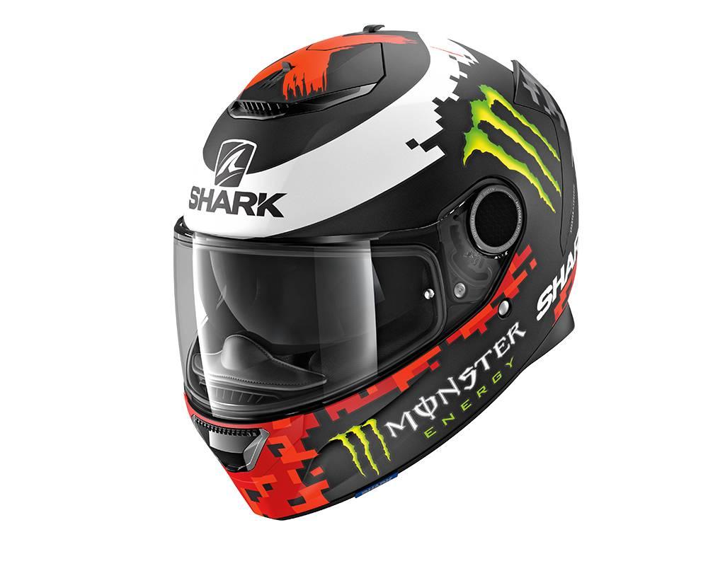 Shark Spartan 1.2 Replica Lorenzo Monster 2018 KRG Helmet