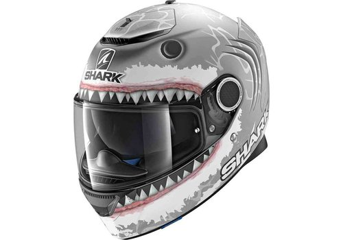 Shark Spartan 1.2 Replica Lorenzo White Shark SWA Casco