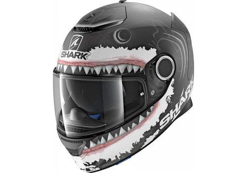Shark Spartan 1.2 Replica Lorenzo White Shark KWA Helmet
