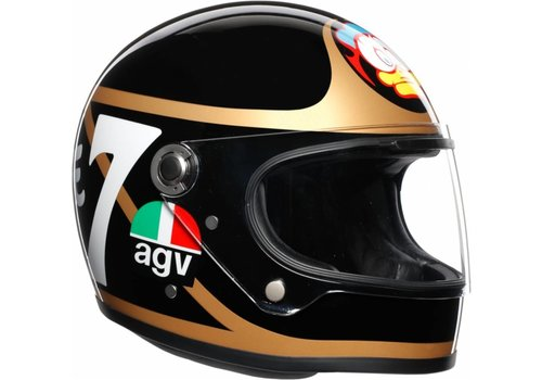 AGV X3000 Barry Sheene Limited edition шлем