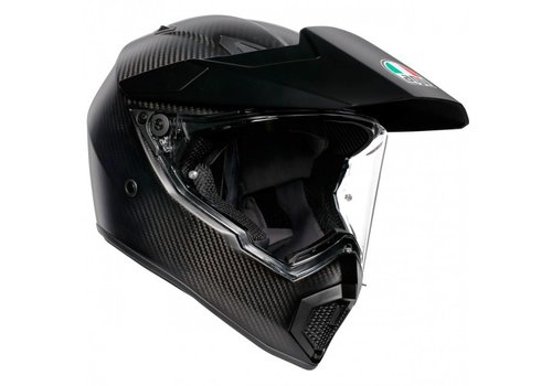 AGV AX-9 Matt Carbon Helm