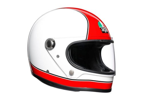AGV X3000 Super Helmet White Red