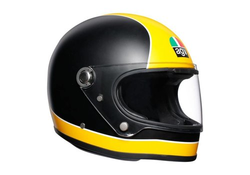 AGV X3000 Super AGV Helm Black Yellow